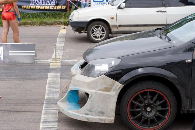 Заїзд з Opel Astra 1.8 16v