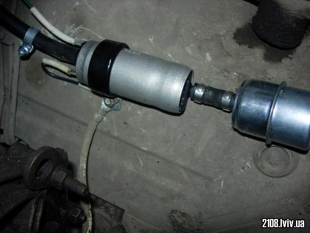 Carter fuel pump P60504 встановлений на ВАЗ 2108